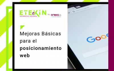 Mejoras básicas para el posicionamiento web