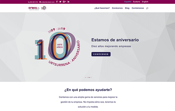 oreka it desarrollo web en vitoria