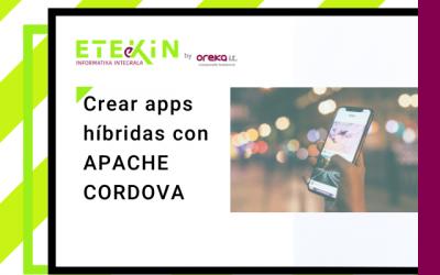 Crear apps híbridas con Apache Cordova