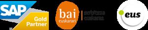 logo sap gold partner logo bai euskarari logo punto eus