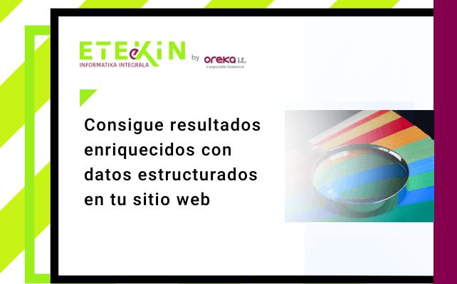 Consigue resultados enriquecidos con datos estructurados en tu sitio web