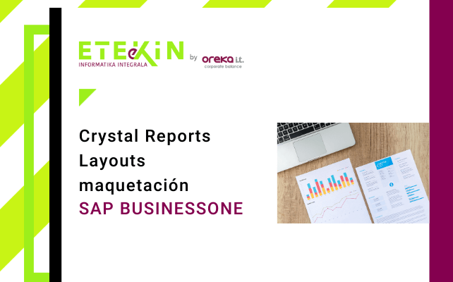 SAP BussinesOne: Crystal Reports Layouts maquetación