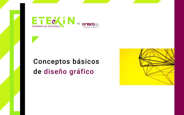 Conceptos básicos de diseño gráfico
