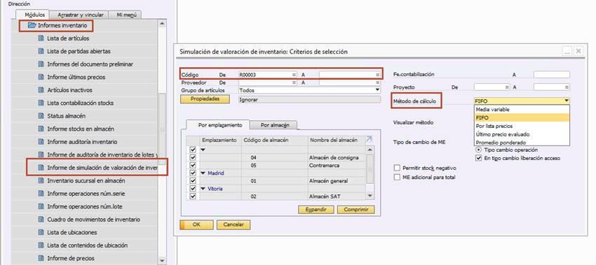 metodos-de-valoracion-en-SAP-BusinessOne-4