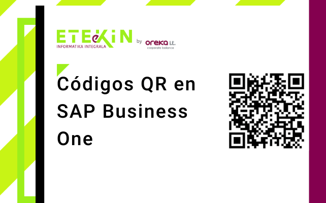 Códigos QR en SAP Business One