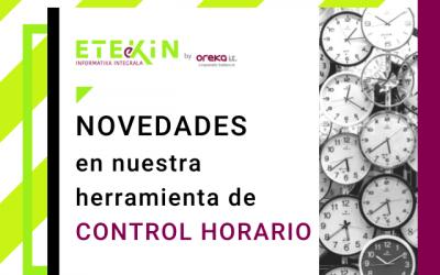 Descubre las novedades que hemos incorporado a nuestra herramienta de control horario 2.0